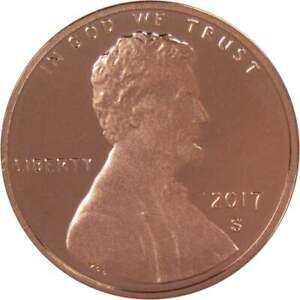 2017 S Lincoln Shield Cent Choice Proof Penny 1c Coin Collectible