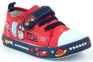 AMERICAN CLUB BOYS Canvas shoes trainers BABY BOY Real leather insoles 8UK