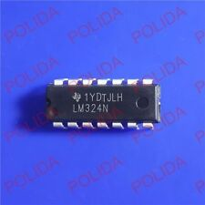 10PCS Operational Amplifiers IC TI DIP-14 LM324N LM324NE4 LM324NE3 LM324