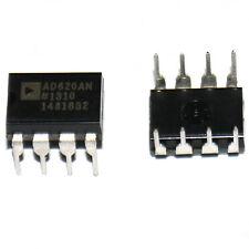 AD620AN DIP-8 AD620 Low Power Instrumentenverstärker IC Gute Qualität