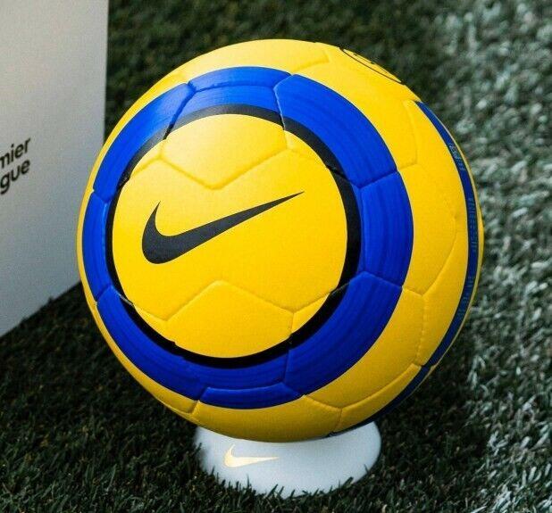 Increíble álbum atención  Nike T90 Strike English Premier League Hi Vis Football Yellow/purple Size 5  of for sale online | eBay