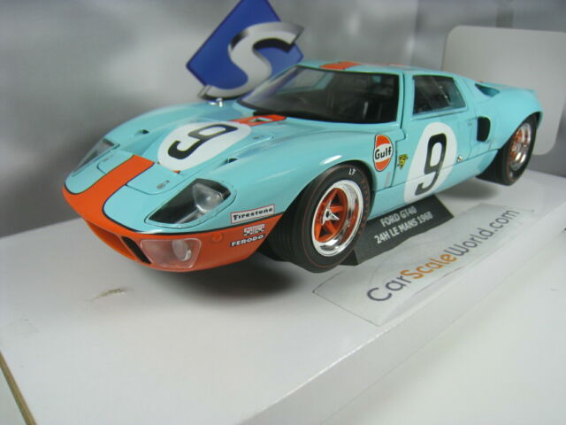 FORD GT40 #9 24H LE MANS 1968 1/18 SOLIDO