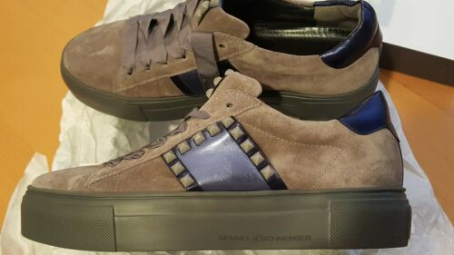 KENNEL UND SCHMENGER Damen Sneaker Grau NEU Nubukleder Leder Gr. 37 (4,5)
