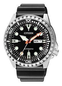 Citizen-Automatik-Promaster-Taucheruhr-Herrenuhr-NH8380-15E-Analog-Kautschuk-Sc