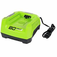 Greenworks PRO 80V Lithium-Ion Rapid Battery Charger GCH8040
