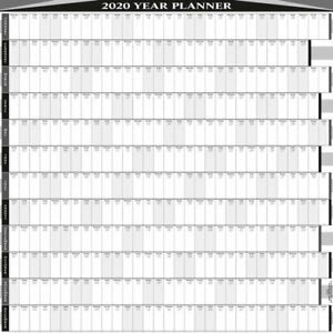 2020-12-MONTH-YEARLY-WALL-PLANNER-CALENDAR-5-SIZES-9-COL-BUS-PERS-SQUARE