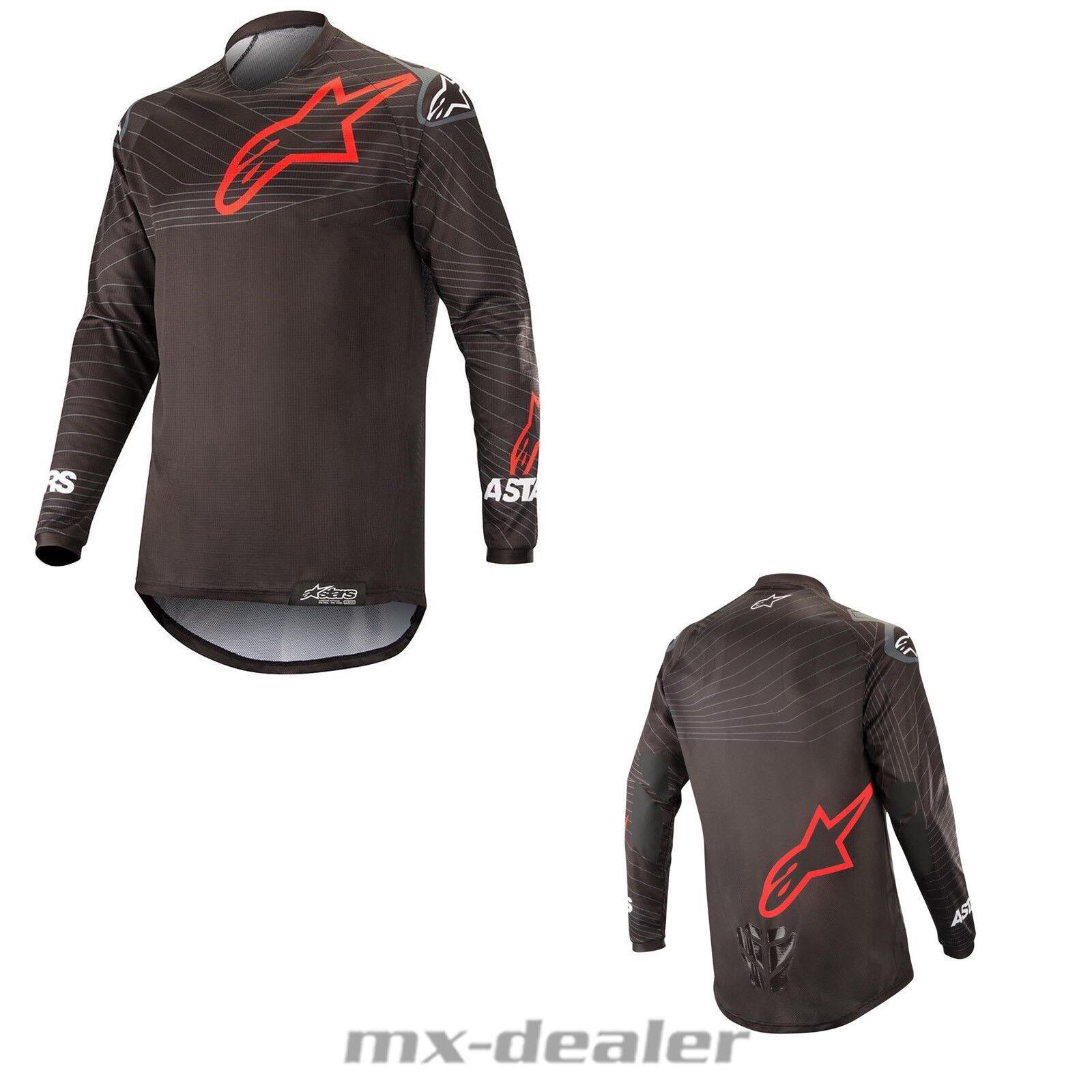 2019 Alpinestars Venture motocross R Enduro Jersey mx motocross Venture Cross schwarz Shirt MTB cab3f6