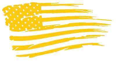 Top quality SMALL AMERICAN FLAG Vinyl Cerakote Application Stencil Best Deal!