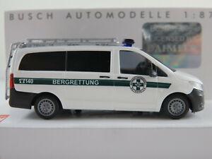 Busch-51117-Mercedes-Benz-Vito-2014-034-montana-rescate-Austria-034-1-87-h0-nuevo-en-el-embalaje