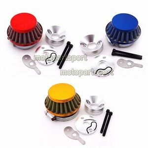 Auto Parts & Accessories CNC Air Filter Adapter Velocity Stack For Goped  Blade Z Scooter 33cc 43cc 49cc Other Motorcycle Parts