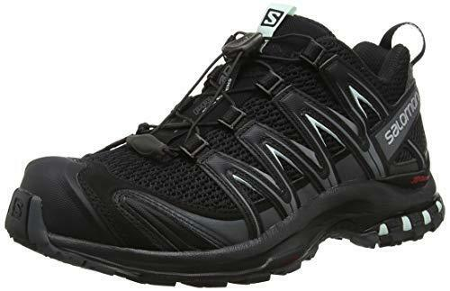 (TG. 42 2/3 EU) Salomon XA PRO 3D W,   W,  da Trail Running Donna, Nero (m6L) 059733