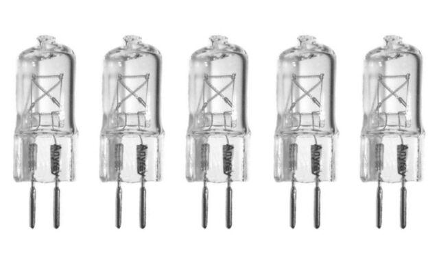-Lamps 35W 35 Watt G5.3 110V 120Volt Bi Pin T4 Halogen Light Bulb 35Watt 10 Anyray A1603Y