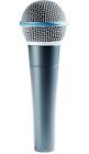 Shure Beta 58a Supercardioid Dynamic High Output Microphone BETA58A