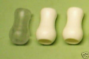 5 WHITE  PLASTIC TASSELS/ PULL CORD/ CLASSIC VASE ***MADE IN USA***