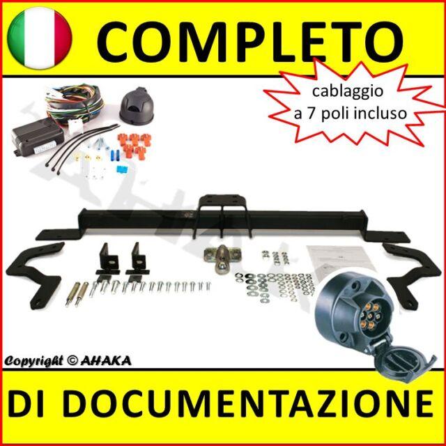 Gancio di traino Fiat Ducato Furgone 2006- + fisso con centralina 7-poli