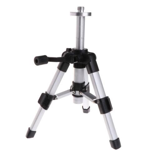 Trépied Portable 5//8 pouces Niveau Laser Mini Trépieds Aluminium Réglable 16-28 cm
