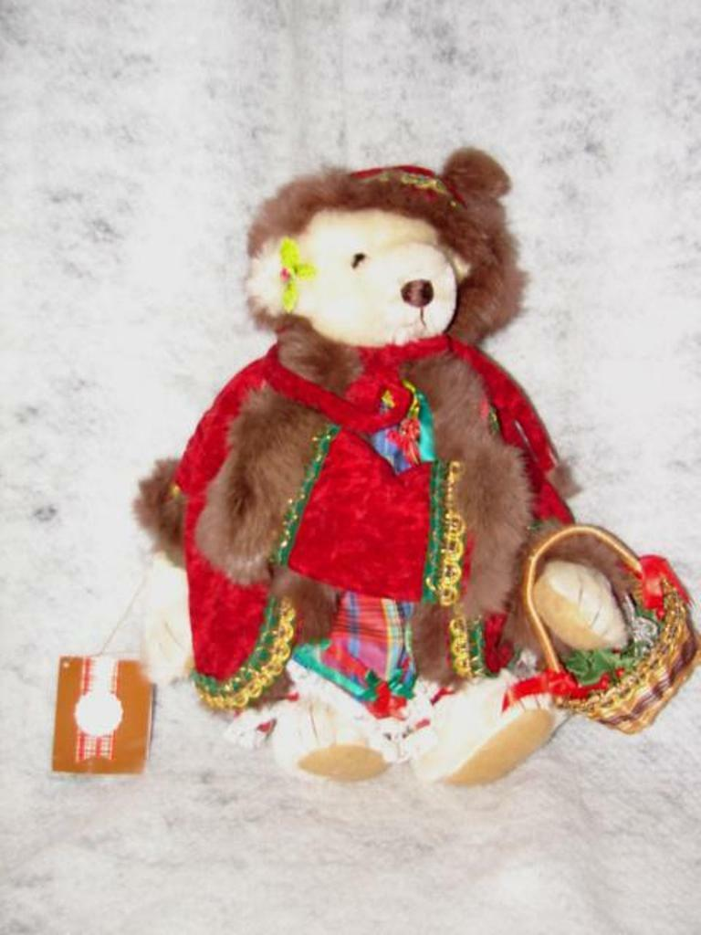 Teddy Bear BY Gorham Beverly Port Teddy Bear Weiß Limited Edition Bp  11