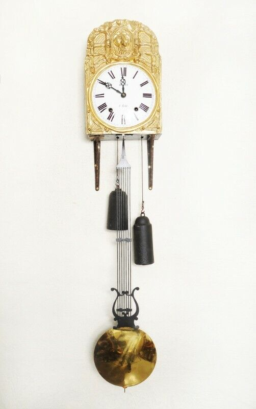 Antique French Comptoise Clock - SKU 1562