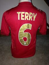 England Terry #6 2006/08 Away Football Shirt / Jersey Size XLB Boys 06/08