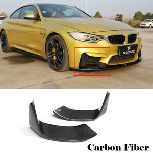 2xCarbon-Splitter-Flaps-Front-Spoiler-Ecken-Wing-fuer-BMW-F80-M3-F82-F83-M4-14-17