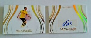 2020 Panini Immaculate Soccer Autograph Booklet Mats Hummels #65/99
