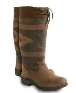 94246e6d3 Image is loading Toggi-Canyon-Leather-Boot-Chocolate-Standard-Calf-Leg