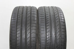 2x-Continental-SportContact-5-P-245-35-ZR19-0-XL-6-5mm-nr-7357