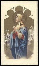 "santino-holy card""""ediz. NB serie 1-702 S.MARIA VERGINE"