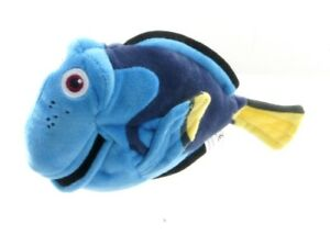 "FINDING DORY Dory  8/"" PLUSH SOFT TOY Fish with free teddy ~NEW"