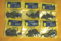 60 Tournament Choice 1/8 Oz Pinch On Sinkers (6 Packs Of 10)