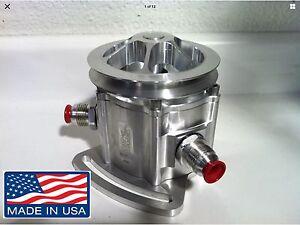 PRO RACING VACUUM PUMP 3 VANE REBUILT AEROSPACE COMPONENTS ADD +30 HP