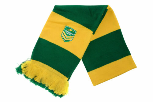 Canterbury Mens Australia Kangaroos Rugby League Supporters Scarf Team Sports