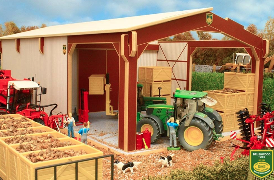 BRUSHWOOD TOYS EURO STYLE POTATO SHED 1 32 32 32 SCALE BTEURO3 6dc8ec