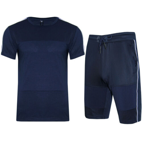 Shorts Zip Full Track Suit Outfit Set Summer Comfort Mens Polyester T Shirt