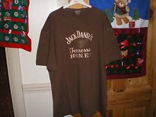 JACK DANIELS BROWN TENNESSEE HONEY T-SHIRT  BEE LOGO ON REAR SIZED MEDIUM