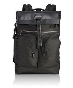 995ae5895 NWT Tumi Men's Alpha Bravo London Roll-Top Backpack, Black ...