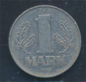 DDR-Jagernr-1514-1980-A-very-fine-Aluminum-1980-1-Mark-State-Emblem-8720006