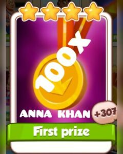 first prize card coin master