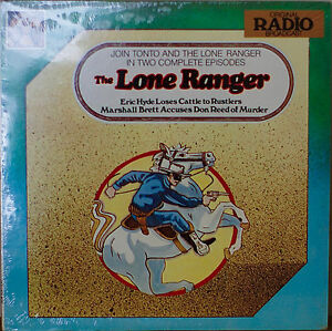 The Lone Ranger Two Complete Episodes Sealed1977lp Eric