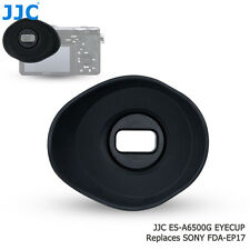 JJC ES-A6500G Silicagel Oval Large Eyecup replaces Sony FDA-EP17 for Sony a6500