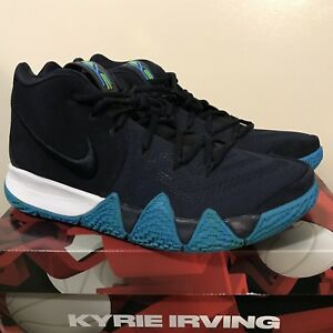 7e5775f5d258 Brand New Nike Kyrie 4 Men s Shoes Size 11 Dark Obsidian Black ...