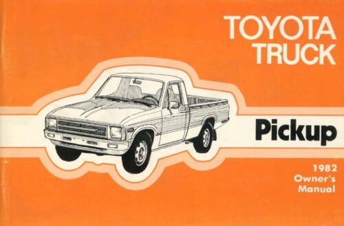 1982 Toyota 2WD Pickup Owners Manual User Guide Reference Operator Book Fuses