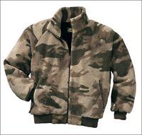 Cabela's Oufitter Camo Quiet Berber Fleece Windshear Waterproof Hunting Jacket