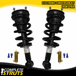 2007-2017 Cadillac Escalade ESV Front Complete Strut Conversion Kit with Bypass