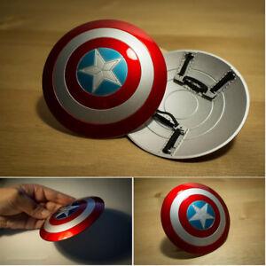 1-6-Los-Vengadores-Capitan-America-Escudo-material-de-metal-hebilla-mano-Hot-Toys