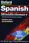 The Oxford Spanish Minidictionary by OUP (Paperback, 1999)
