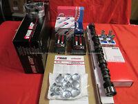 Chevy 283 Master Engine Kit Pistons+rings+350hp Cam+bearings 1964 65 66 67