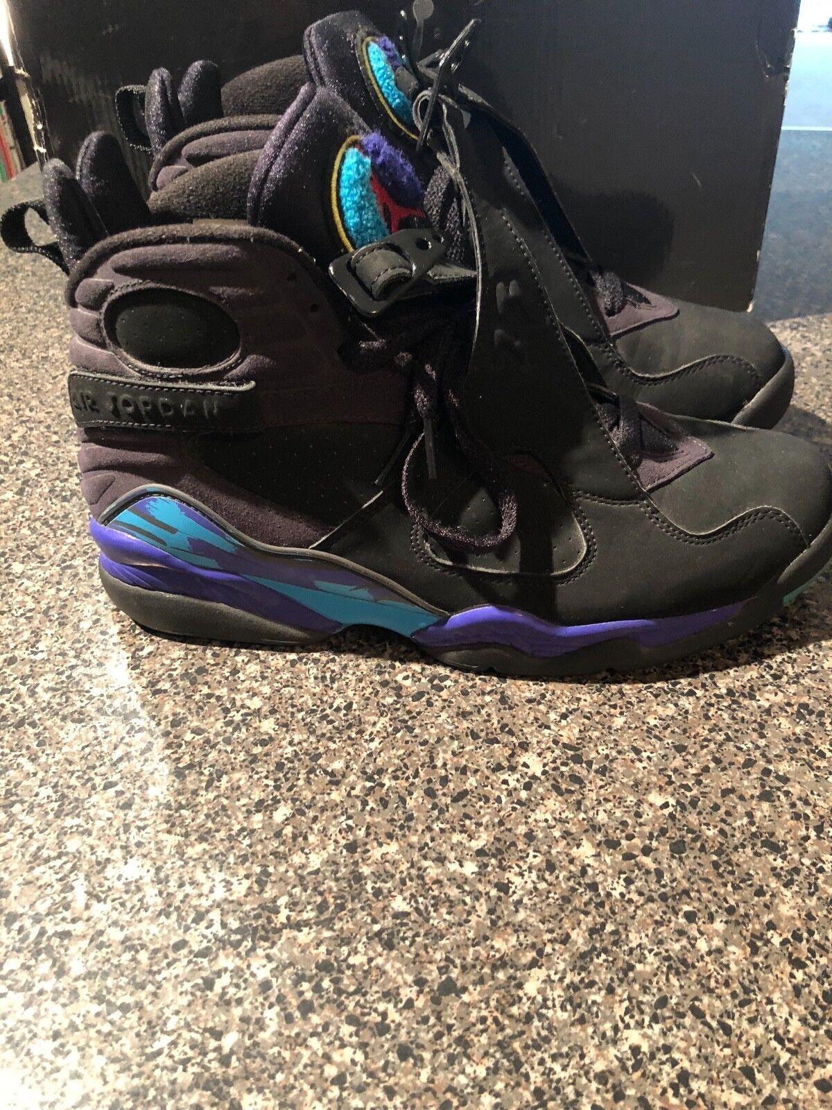 2018 Nike Air Jordan Retro 8 Aqua size 9.5 Wild casual shoes