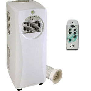 image is loading slim portable air conditioner amp electric heater compact - Air Conditioner And Heater