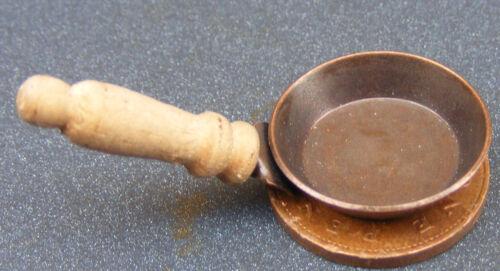 Escala 1:12 1.8cm de diámetro pequeño Metal Sartén tumdee Casa De Muñecas En Miniatura